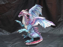 WIP-Blue dragon by Tammysoul