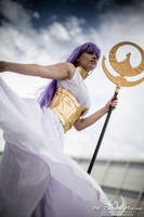 I'll protect my saints by Ivycosplay