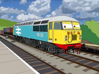 Class 56 gone Disney by Edelroark