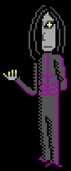 Bad guy sprite practice - Cain by Amayirot-Akago
