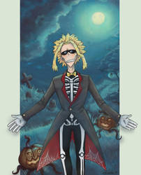 Allmight Halloween by Kamel21