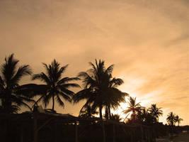 Under An Orange Sky by maczee