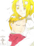 Edward and Alphonse Elric by kuri-loves-curry