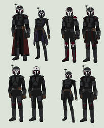 Star Wars - Clan Fenri Mandalorians by Arbiter376