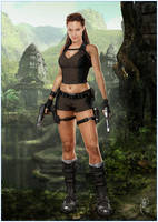 Underworld Lara Croft by miltographic