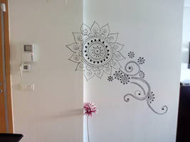 Mandala wall art by TulasiStocker