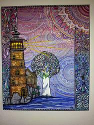 The Light house by TulasiStocker