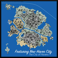 New Haven Map by AboveTheLawHD