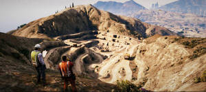 Grand Theft Auto: V Quarry by AboveTheLawHD