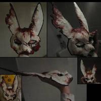 BioShock Spider Splicer Rabbit mask by MWmagic