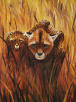 Cheetahs by ScarletBegonias88
