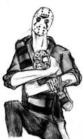 Freddy VS Jason : Friendship by DeviantBoss