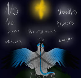 Vent-No Thoughts And Prayers by Sweetncreepy50