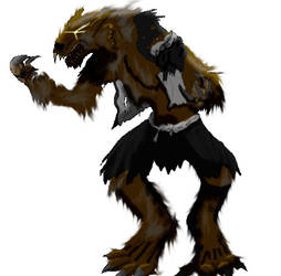 werewolf. contest submission by couchpotatoeman