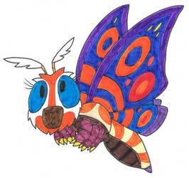 Mothra (Anthony's Kaiju Adventure) by Genie-Dragon