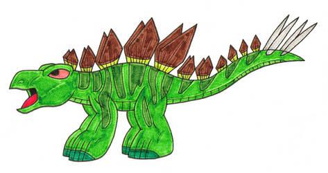 Stegosaurus by Genie-Dragon