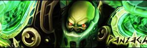 PanzaGhor Signature - World of Warcraft by ginnypinnyart