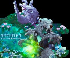Amenitra Chat Cover - World of Warcraft by ginnypinnyart