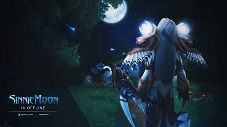 SinnieMoon Offline Image - World of Warcraft by ginnypinnyart