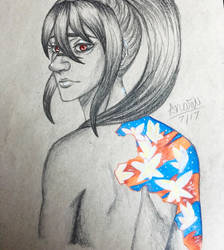 Scars Can Be Beautiful  by LilithSenpai