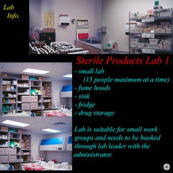 Sterile Products Lab Info by Umbrella-Corporation