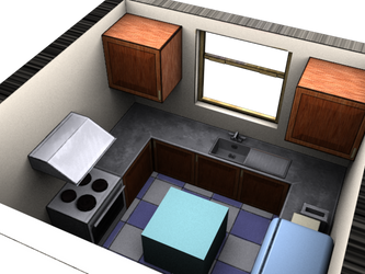 Kitchen Set by trybutfail