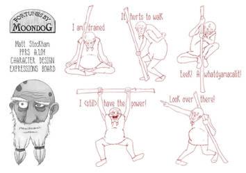 Moondog Expression Sheet by trybutfail