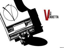 V for Vendetta by swordfishll