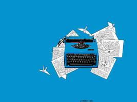 Typewriter. by swordfishll