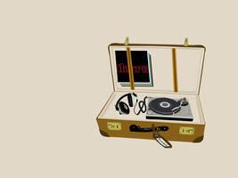 Music Suitcase by swordfishll