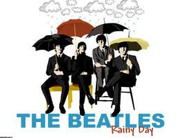 The Beatles Rainy Day by swordfishll