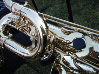 Baritone Sax by actressNess