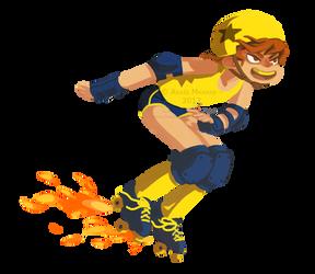 Rocket skating by sssashimi