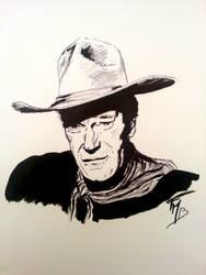 John Wayne by batblues
