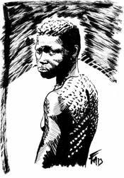 africaine tribue by batblues