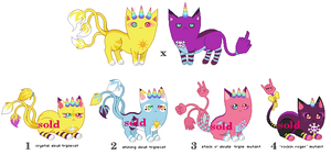 [CLOSED] TripleMutant Breeding with Unicorngirl1 by mouldyCat