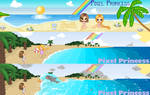 Summer Banners by mouldyCat