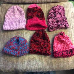Loom Knit Hats by Sassafras1560