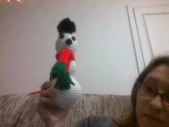 Snowman by Sassafras1560