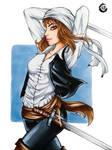 Character of Akire saga. by IKrystalDrawing