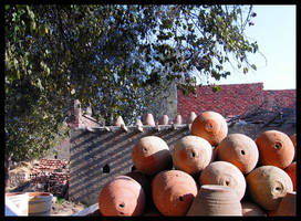 Belbeis Pottery shop by doriano