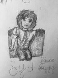 Syd Barrrett sketch by ClassicROCKtrash