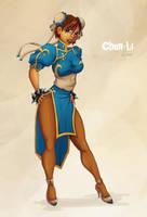 Chun-Li by mrudowski