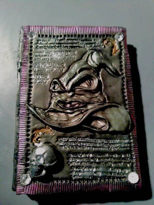 harry potter sorting hat inspired journal by creativitieskey