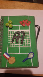 tennis fanatic!  by creativitieskey