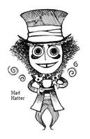 Mad hatter by Hallpen