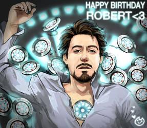 Happy birthday Robert by Hallpen