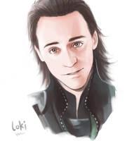 Avengers: Loki by Hallpen