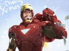 Merry X-mas by Hallpen