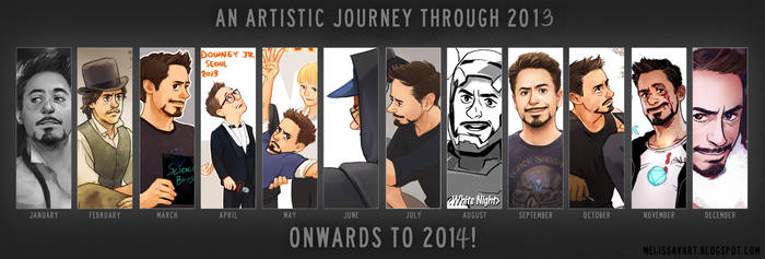 2013 with RDJ by Hallpen